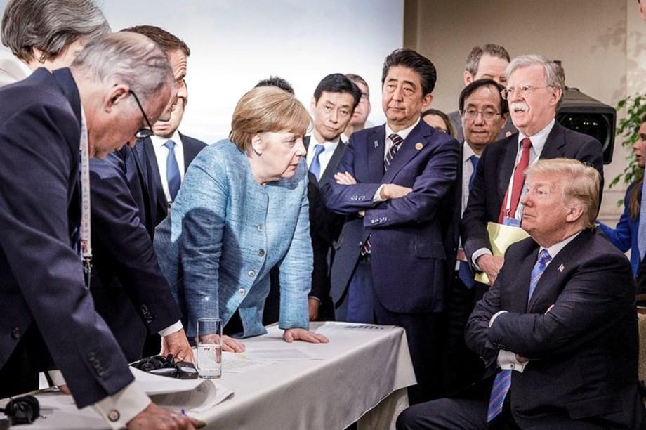 "Transatlantic ties with Trump ""crucial for us"" says German Chancellor Merkel"