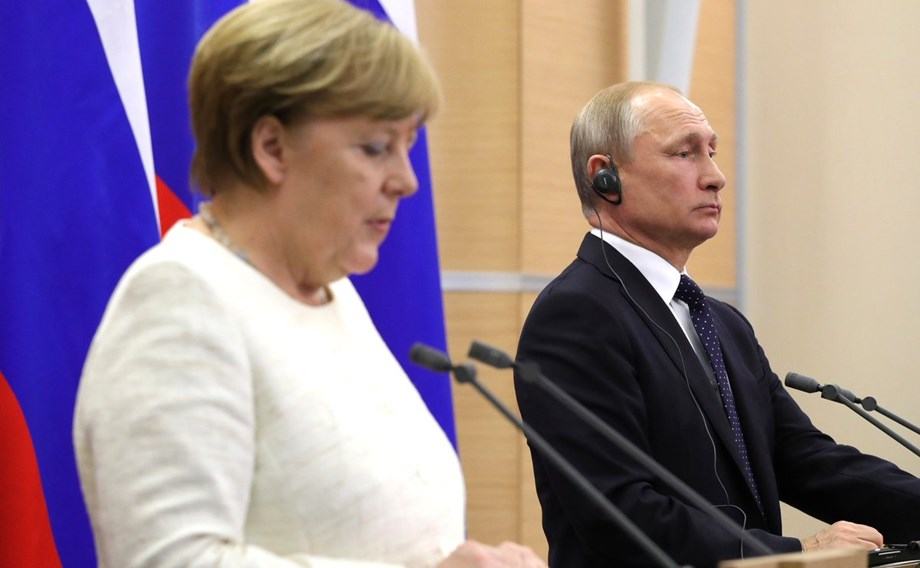 Merkel says Europe can't rely on US to impose world order