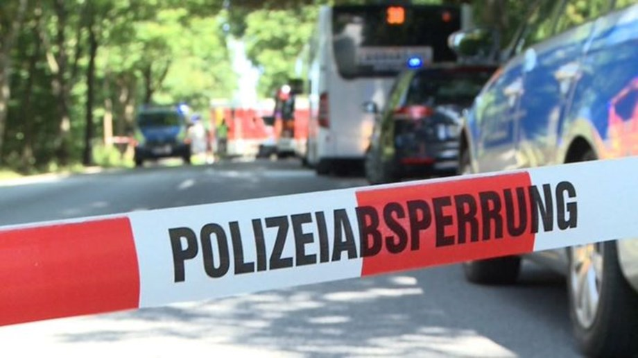 German police: 9 injured in bus attack, suspect arrested