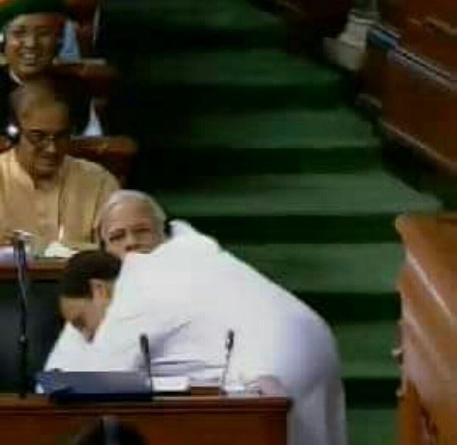 Entire nation saw what eyes did today: Modi's swipe at Rahul Gandhi's post-hug 'wink'