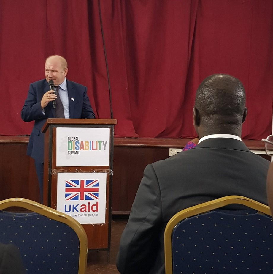 UK aid supports disability inclusion at Global Disability Summit Satellite event