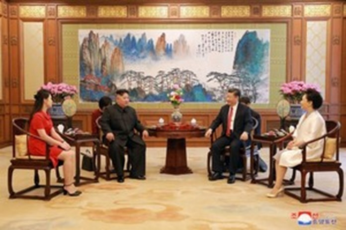 Kim and Xi to boost strategic and tactical cooperation