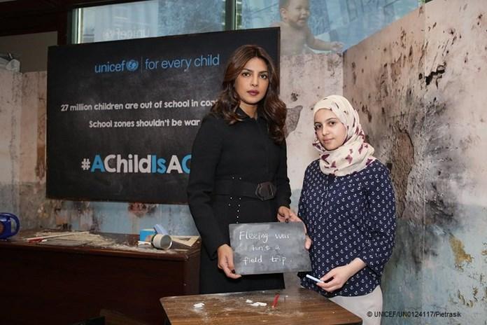 Priyanka Chopra's appeal for children on World Refugee Day