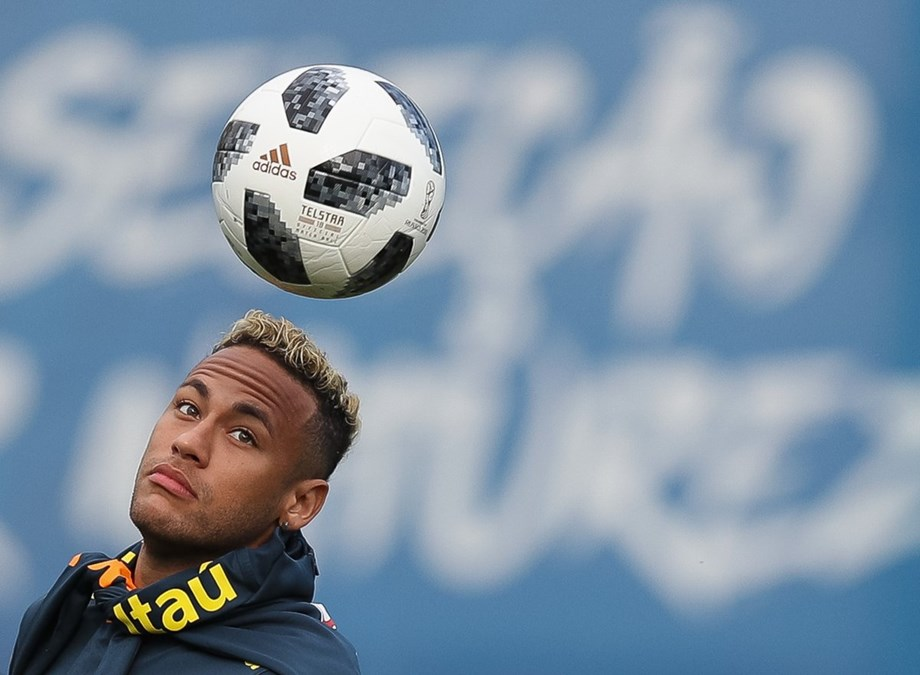 Neymar back on training ground, will feature in Saint Petersburg