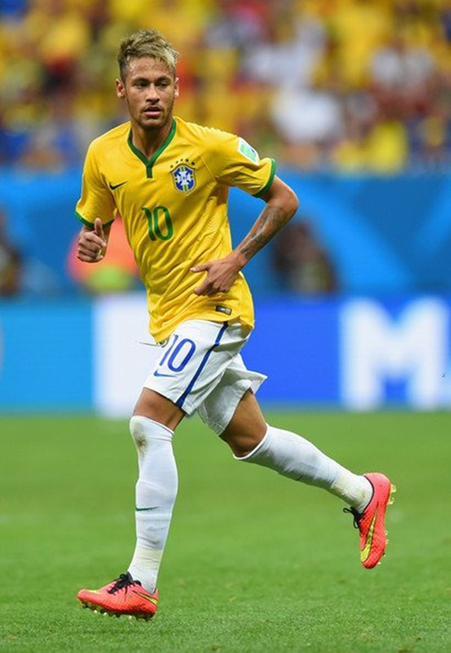Neymar participating normally in team's activity says Brazilian soccer federation