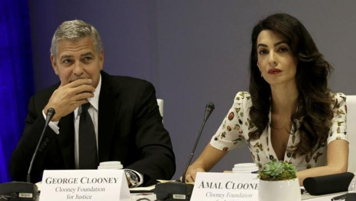 USD 100,000 donated by Clooneys to help migrant children separated from families