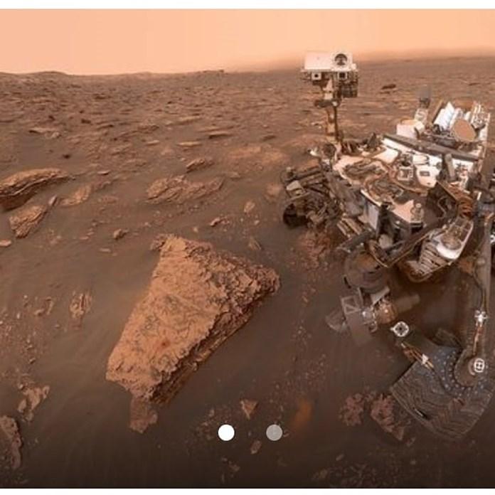 NASA's Curiosity rover beams back photos of dust storm on Mars