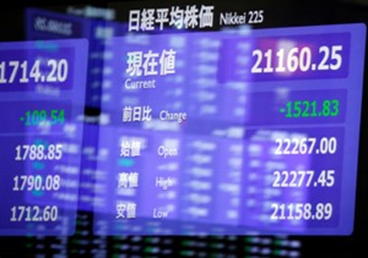 Global shares edge up, China pulls Asia down, oil subdued pre-OPEC