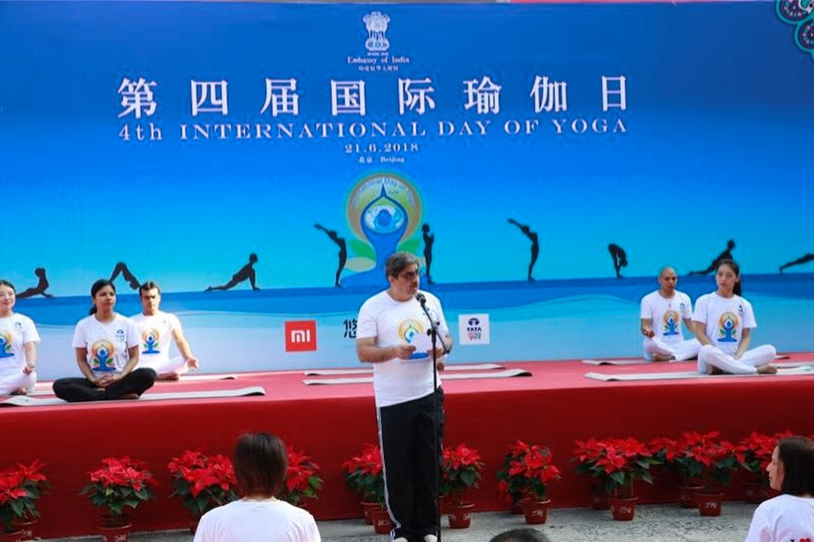 India and China share Yoga bridge says Indian envoy