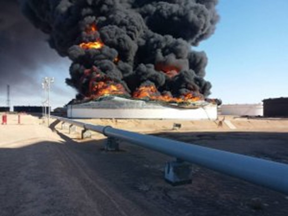 Libya's NOC hopes military operations help reopen ports quickly