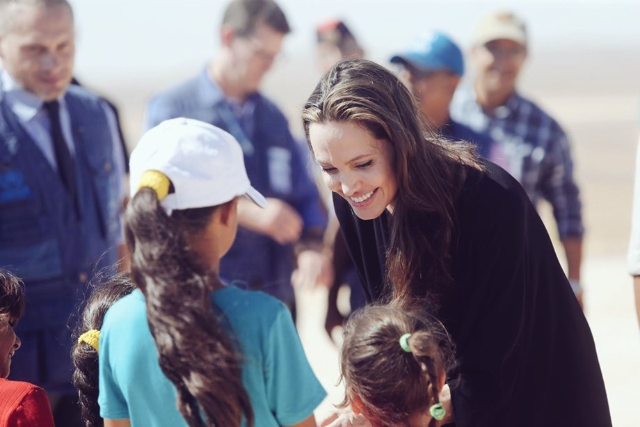 Angelina Jolie speaks up on global refugee crisis, says must try to act