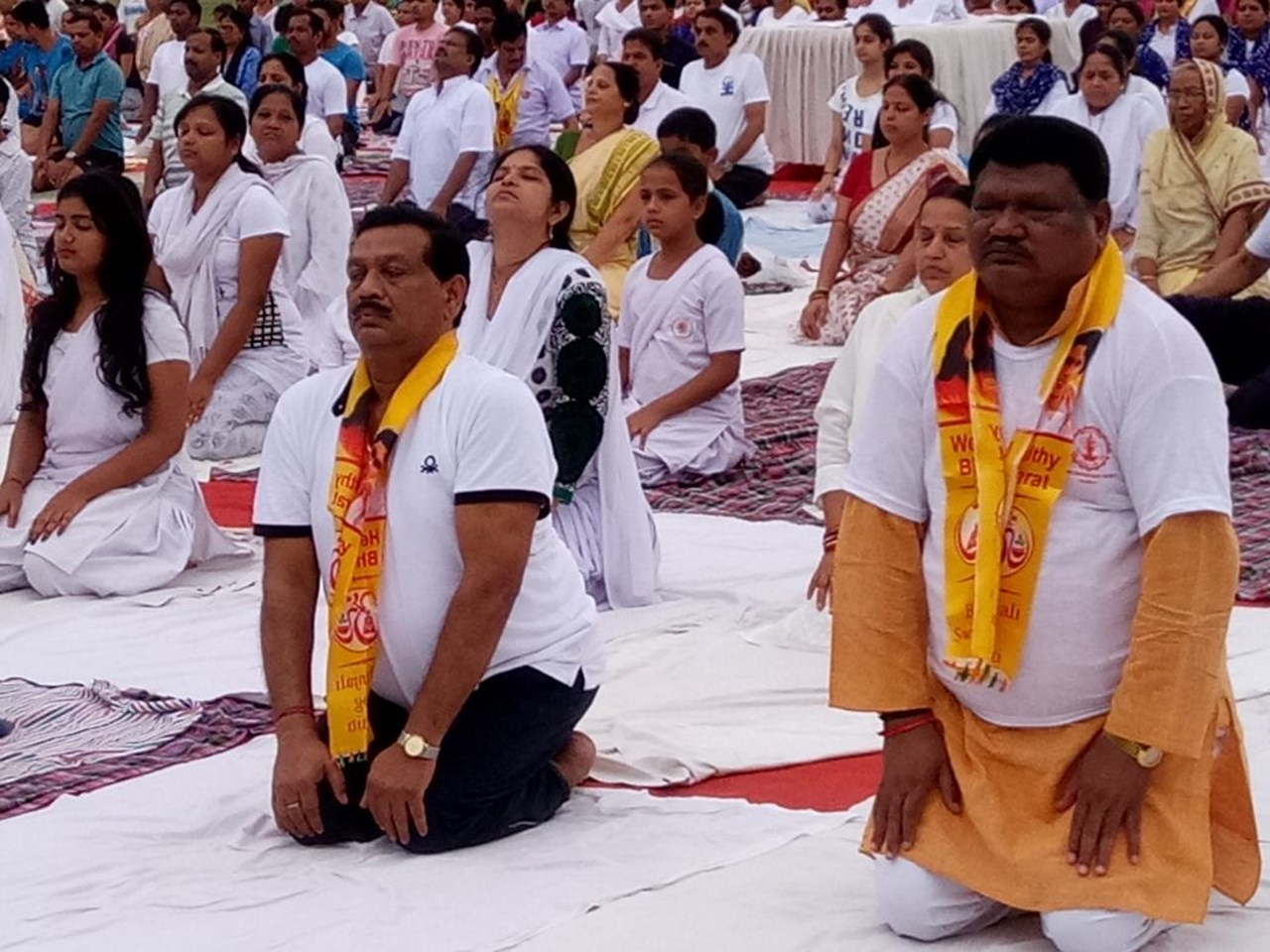 Odisha observes International Yoga Day