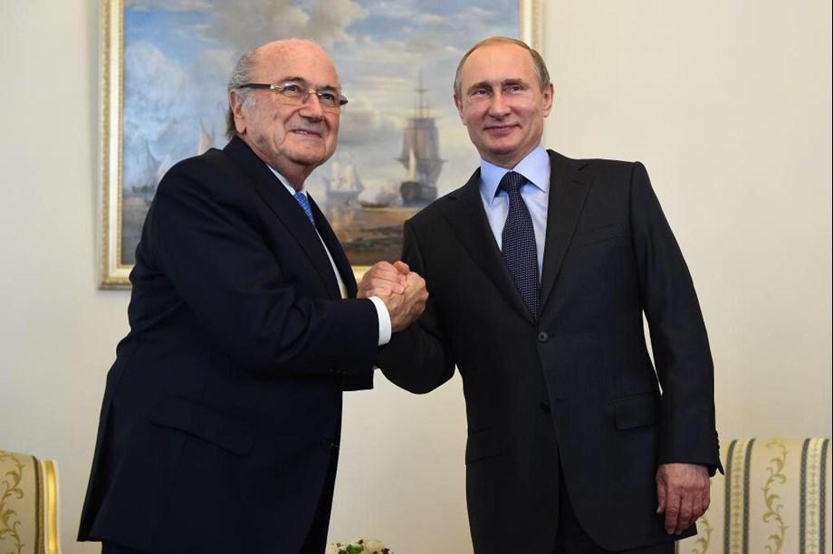 Kremlin says Putin's meeting with ex-FIFA boss Blatter a private matter