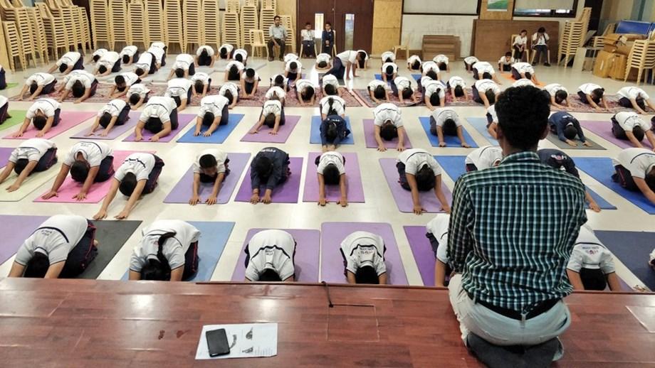 Hari Krishna Group Hosts International Yoga Day