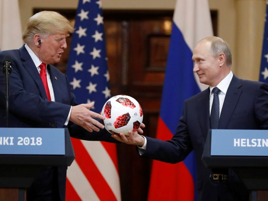 Routine security check for Putin's soccer ball gift to Trump