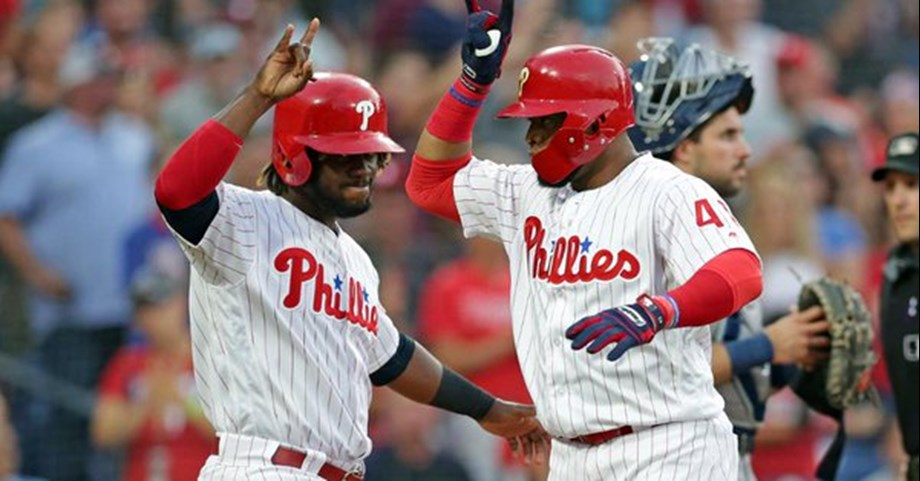 Philadelphia Phillies with 11-5 victory over San Diego Padres