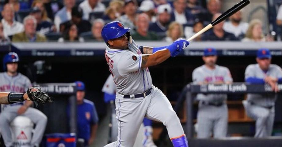 New York Mets before Yankees, Yoenis Cespedes shines in 7-5 win