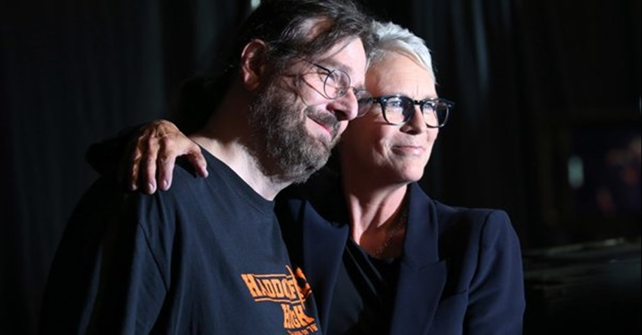 Who Says 'Halloween' Saved His Life, Jamie Lee Curtis embraces sobbing fan