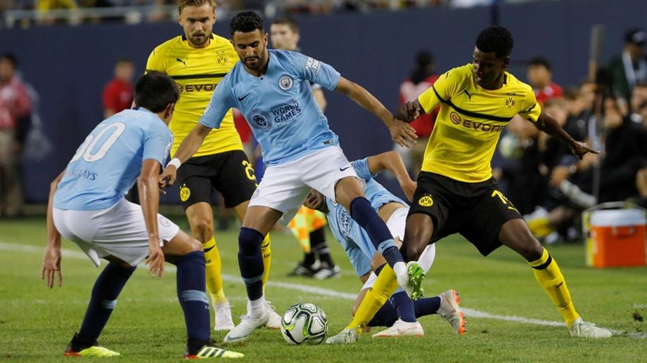 Borussia Dortmund ease past Man City by 1-0 in Champions Cup opener