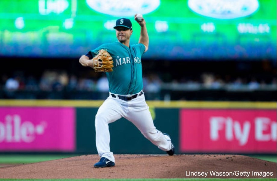 Wade LeBlanc K's 10 as Seattle Mariners down White Sox, 3-1