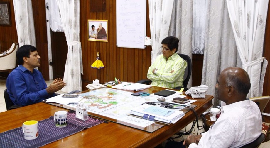 Lt Governor Kiran Bedi granted approval to territorial assembly to bring in and adopt 'Appropriation Bill'