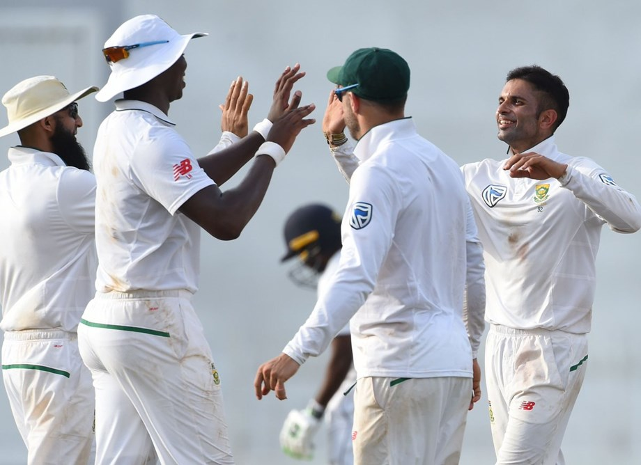 Dananjaya leads Sri Lanka closer to victory against S. Africa