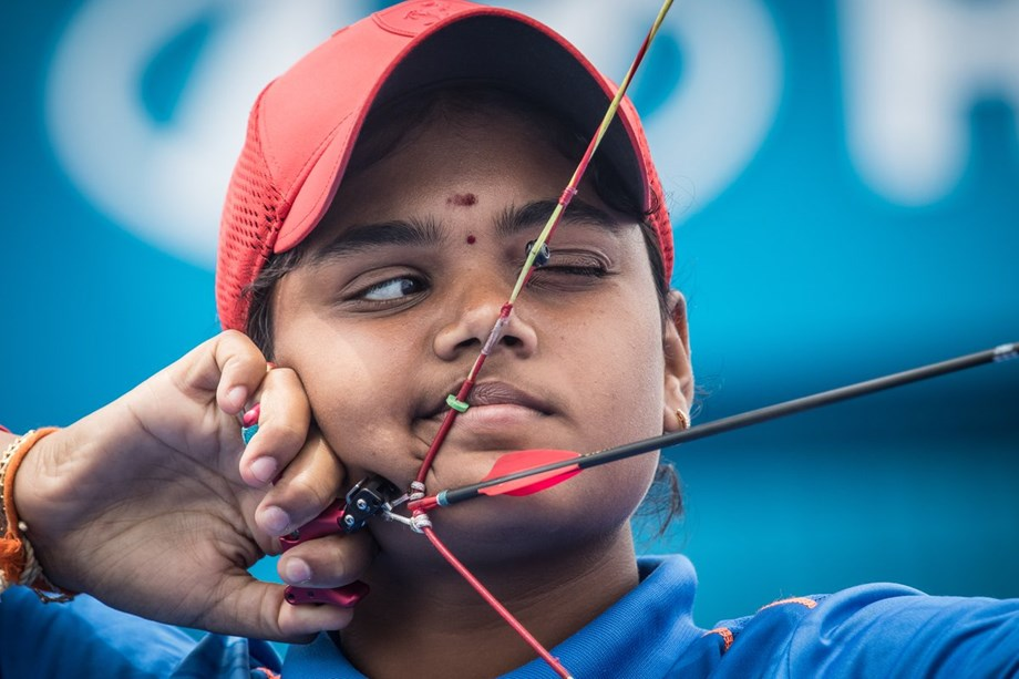 India lose by one point, bags silver in women's compound team