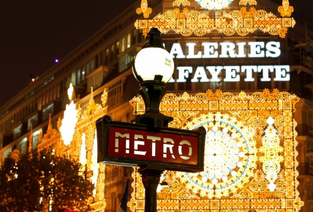 France's Galeries Lafayette switches to art and gourmet food to gather masses