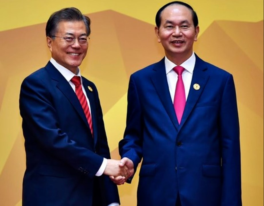 Vietnam and South Korea agree for bilateral trade of USD 100 bln by 2020