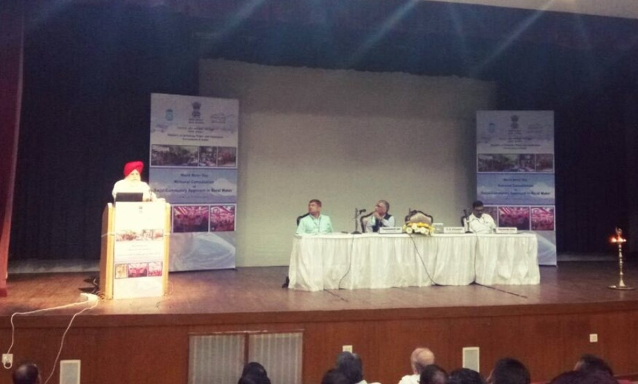 MDWS organizes national consultation on Swajal Community approach to rural water