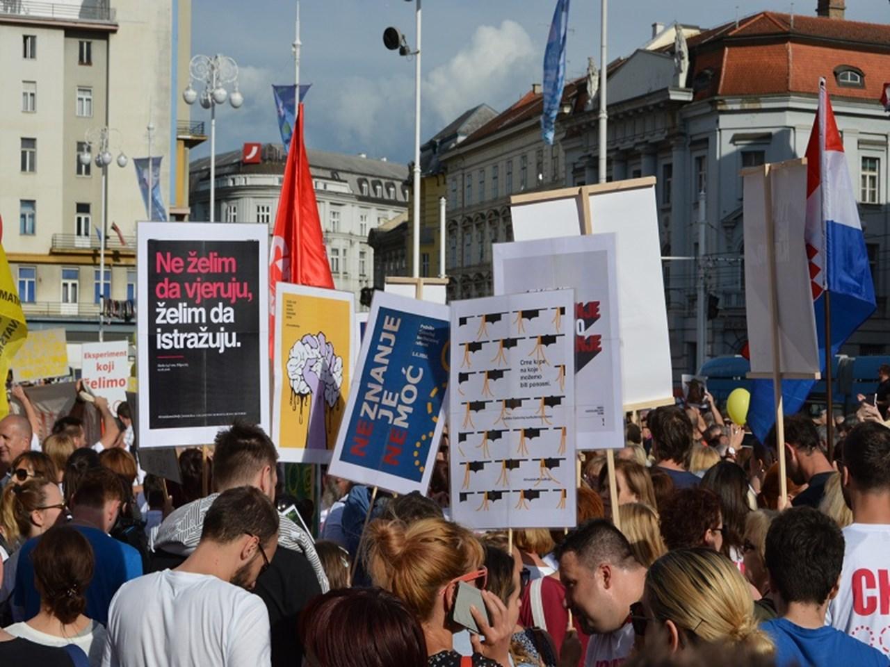 Croatians against European treaty that describes gender as a social role