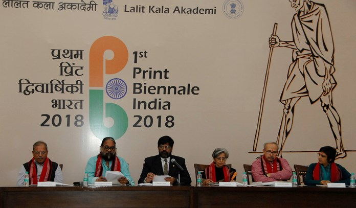 India hosts first International Exhibition of Graphic Prints- 'Print Biennale India 2018