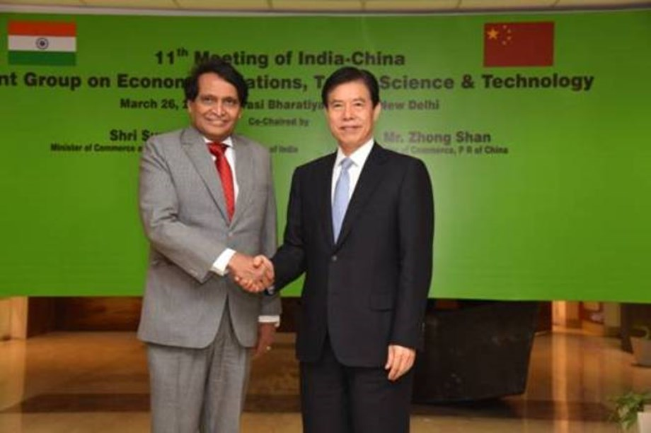 11th meeting of the India-China Joint Group on Economic Relations, Trade, Science and Technology was held today at New Delhi