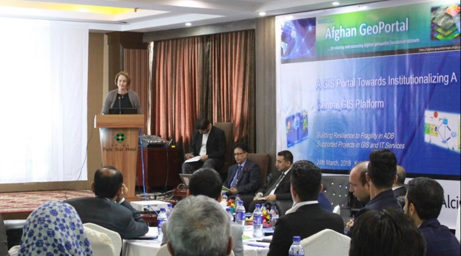 ADB launches GeoPortal in Afghanistan to improve data access