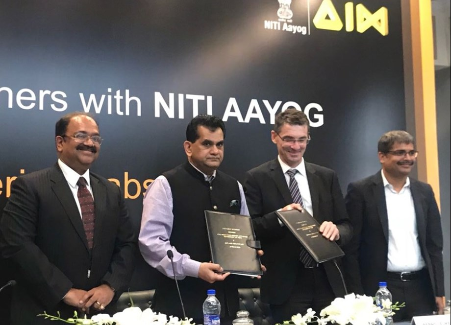 Atal Innovation Mission aims at enabling students to learn advance technology
