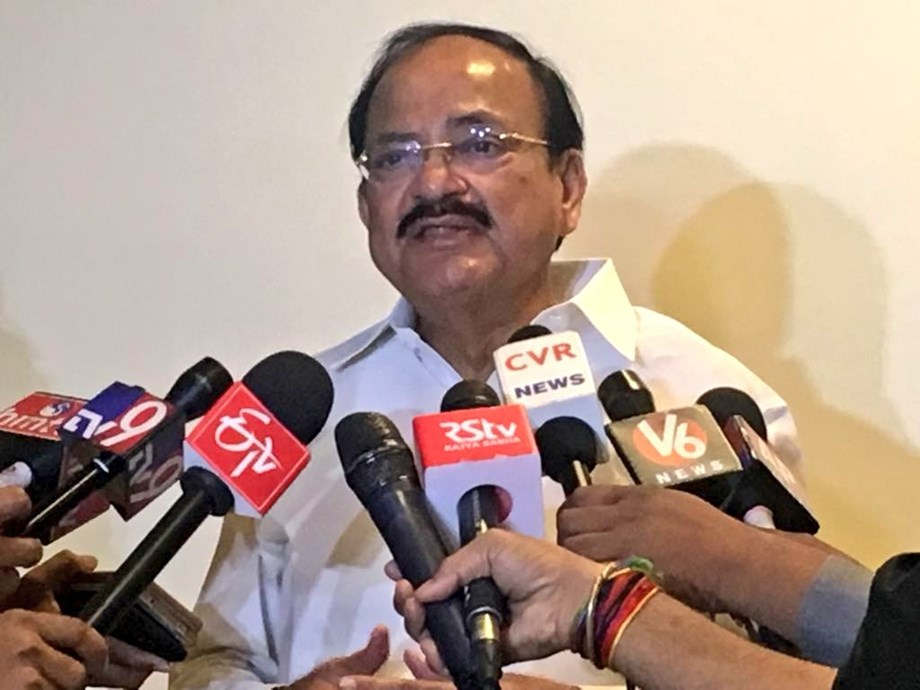 M Venkiah Naidu feels IT industry should focus on innovation and development of new technologies
