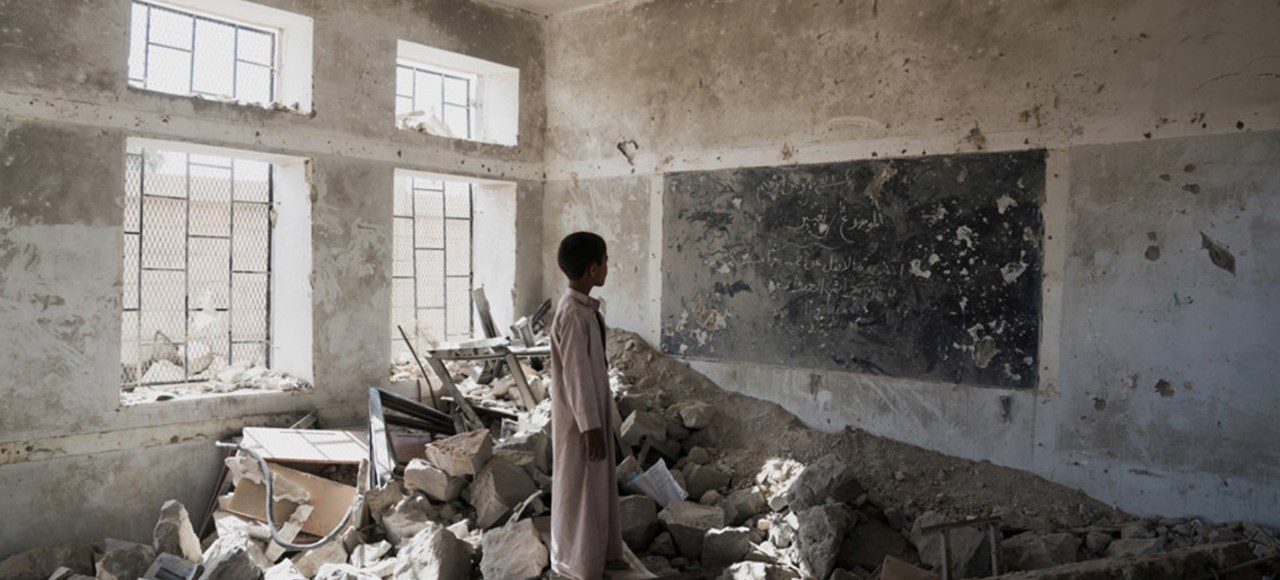 Yemen's education system has been devastated by country's brutal conflict– UNICEF