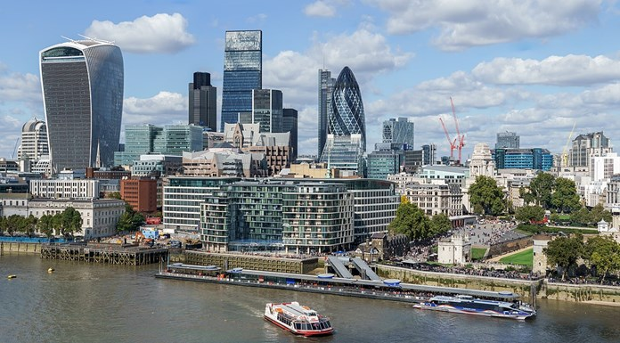 Brexit effect on London's position as the largest international centre of finance