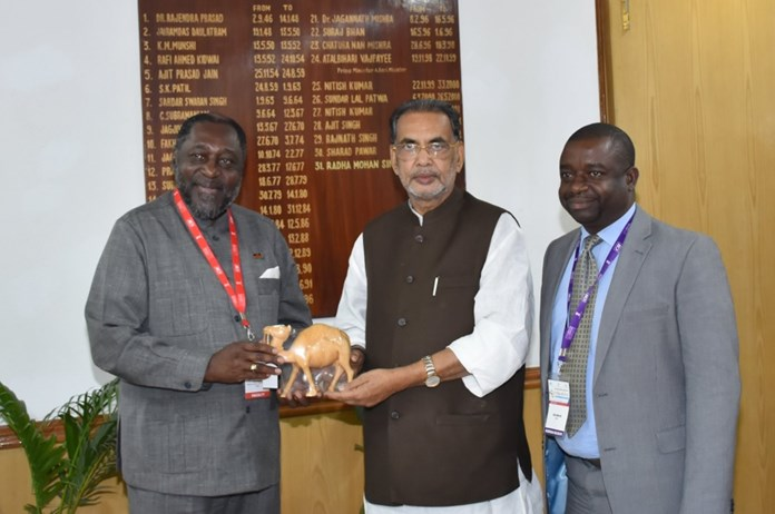 Indian community living in Gambia plays a vital role in the economic progress and development: Union Agriculture Minister