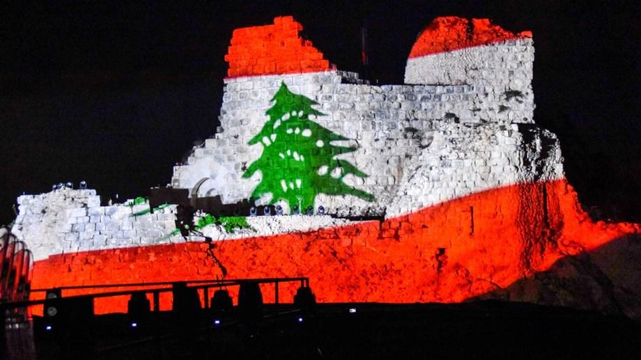 3D lighting tells biography of Beaufort Castle at opening of Lebanese festival
