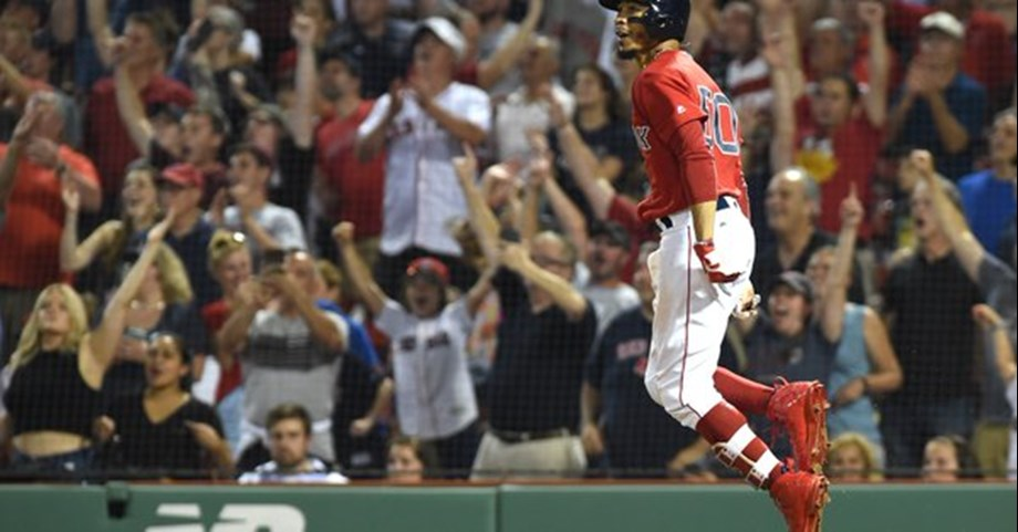 Betts led off bottom of 10th inning, Red Sox snaps losing streak with 4-3 victory over Twins