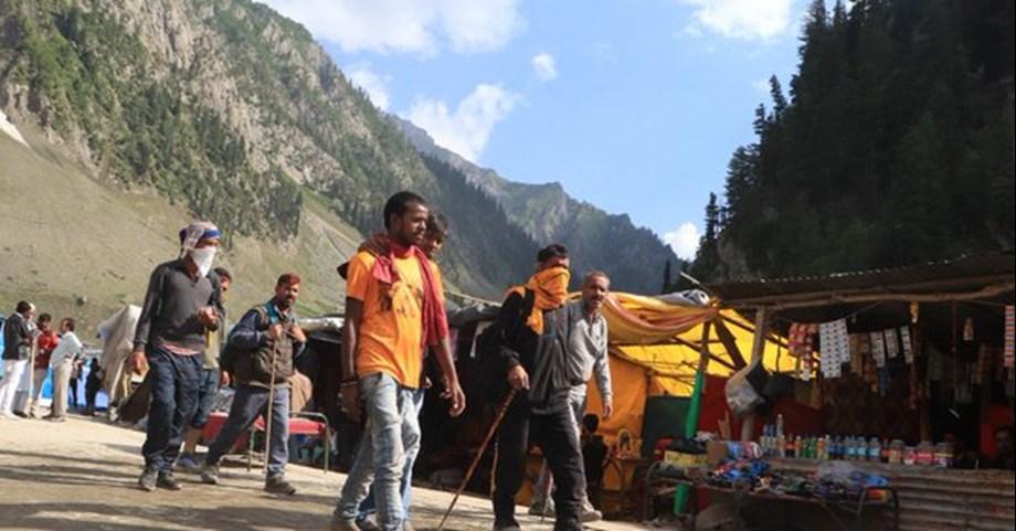 Amarnath Yatra: Fresh batch of 663 pilgrims leaves for shrine