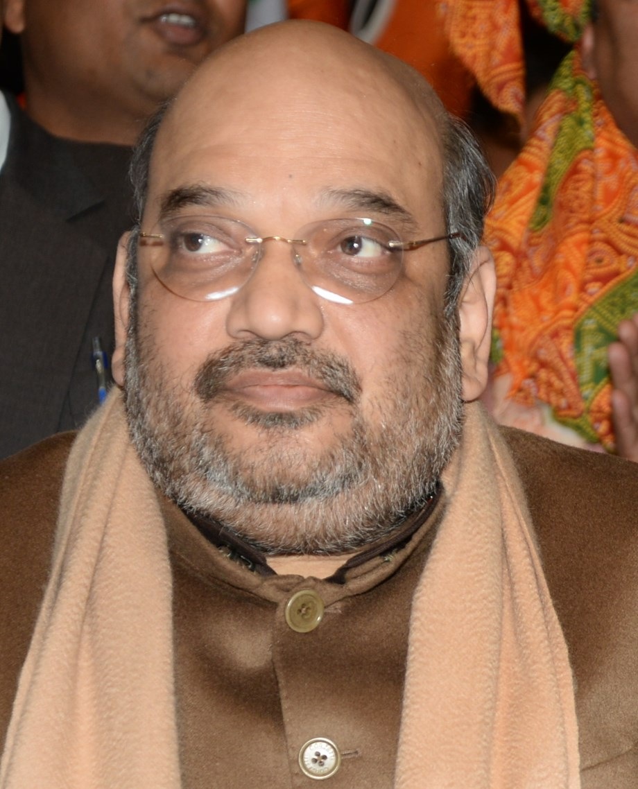 BJP supremo Amit Shah arrives in Mumbai to see film based on PM Modi's early life