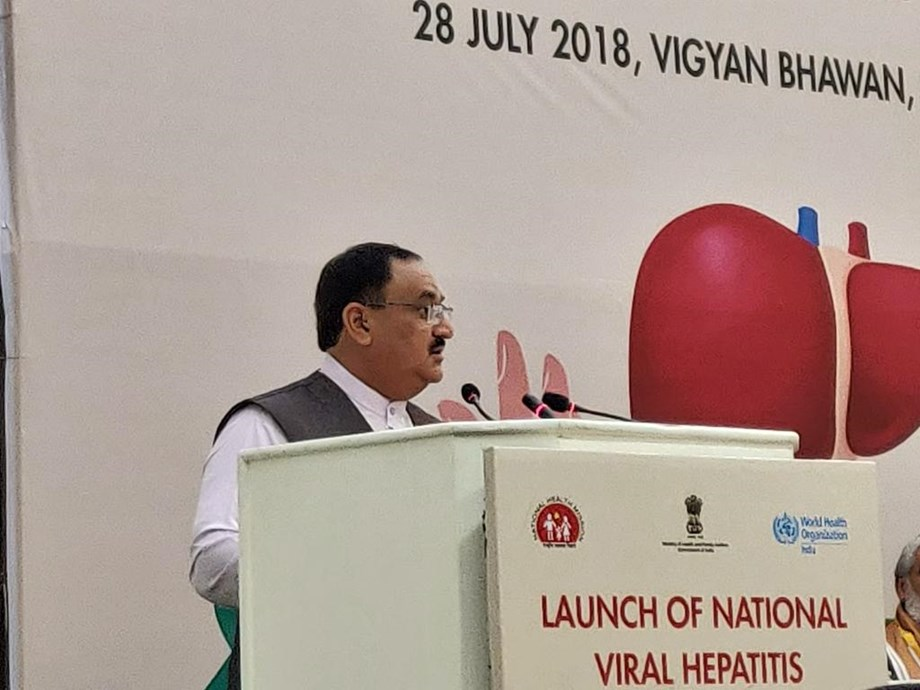 WHO and Health Ministry launches National Viral Hepatitis Control program
