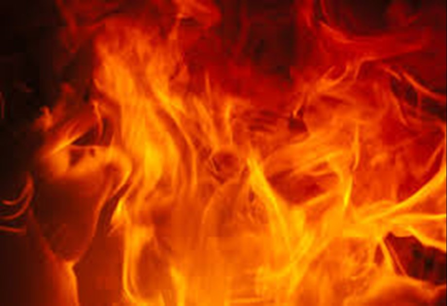 Fire at paint godown in west Delhi