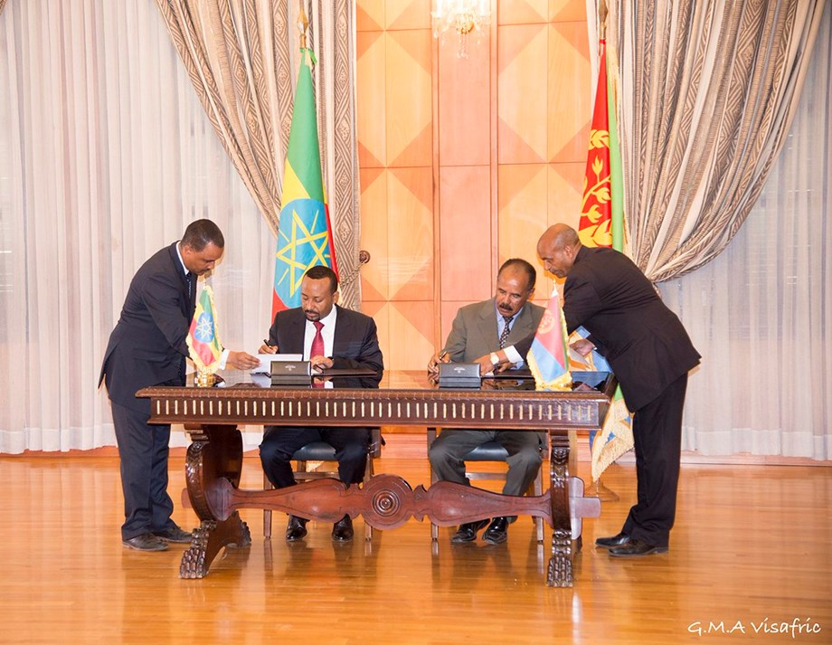 Somali leader heads to Eritrea in possible diplomatic thaw