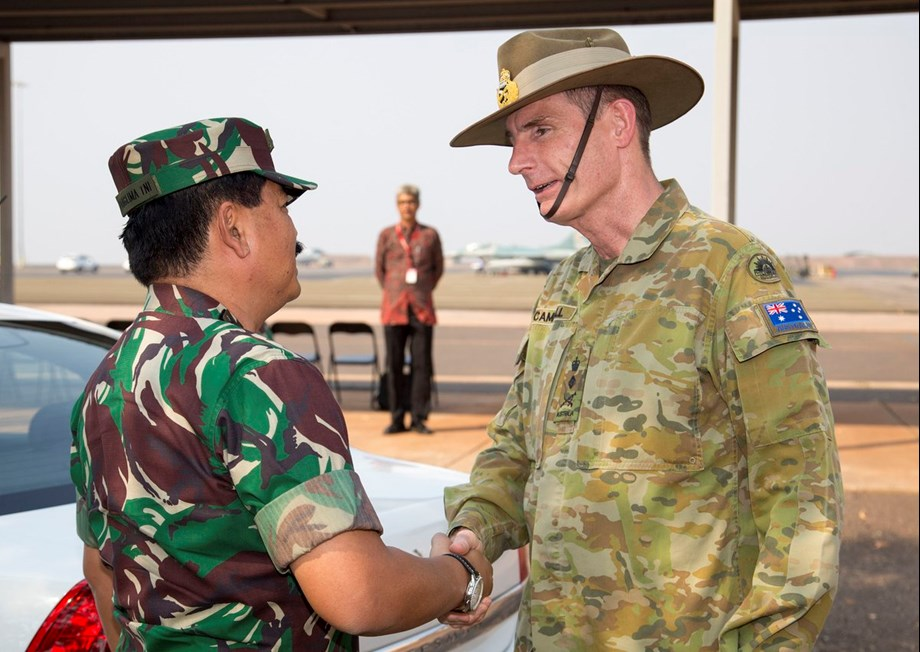 Commanders of Indonesia, Australia meet to bolster military relations