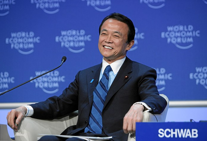 Japan's Finance minister advises against trade talks with US
