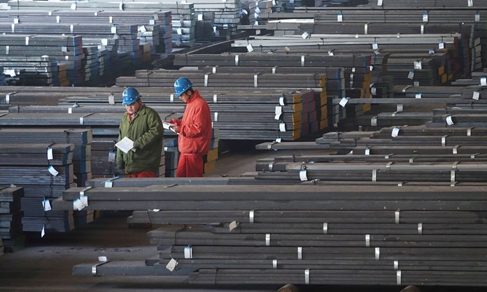 Growth in China's manufacturing sector gains momentum