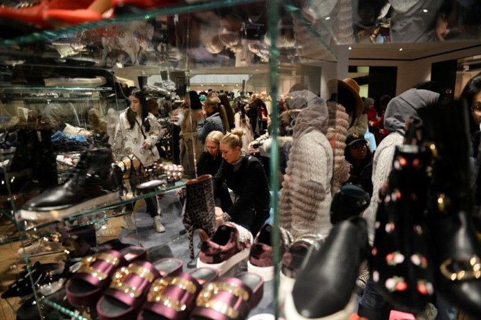Britain's consumers more confident in March, says survey